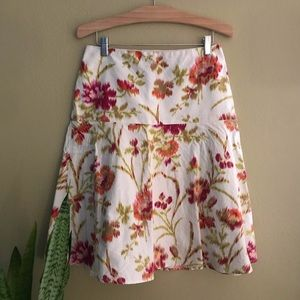 Laundry by Shelli Segal Floral Skirt